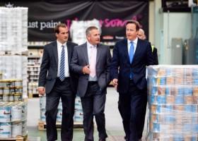 Crown Paints gości premiera Wielkiej Brytanii