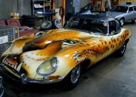 Jak zepsuć malowanie Jaguara