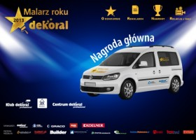 Znamy TOP20 konkursu Malarz Roku Dekoral 2013