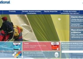 Farby jachtowe International Paint – strona www