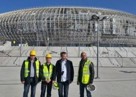 Materiały Sika przy budowie Kraków Arena
