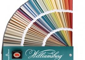 Wzornik kolorów Williamsburg – kolonialny szyk