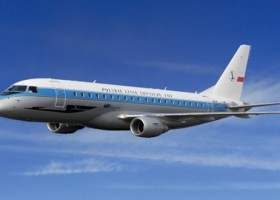 LOT i samolot w stylu retro