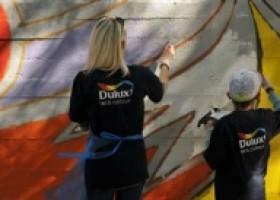 Twój mural w akcji Dulux Let's Colour – konkurs