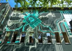 Mural na Centrum Informatycznym Świerk – zwycięzca