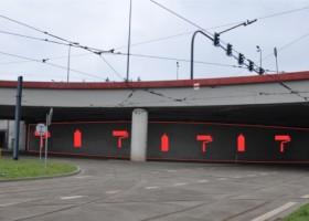 Mural na Rondzie Mogilskim – konkurs