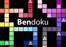 Bendoku – kolorowe sudoku Benjamin Moore