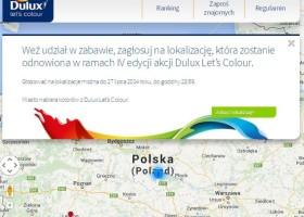 Dulux Let's Colour – zagłosuj na miasto!