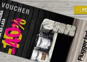 Produkty Flügger do drewna 40% taniej!