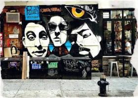 Beastie Boys – mural na rocznicę