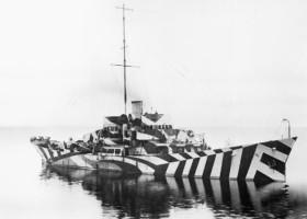 Dazzle Ship – kamuflaż na opak