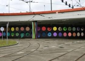 Mural na Rondzie Mogilskim – konkurs rozstrzygnięty!