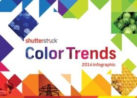 Odcienie roku 2014 w bazie Shutterstock
