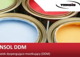 Tensol DDM – nowy środek dyspergująco-mostkujący