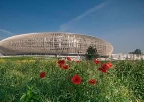 Sika przy budowie Kraków Arena
