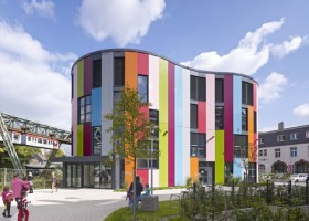 Kolorowy Junior Uni w Wuppertalu