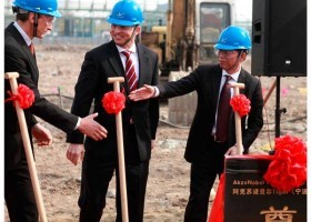 Rusza budowa fabryki AkzoNobel w Chinach
