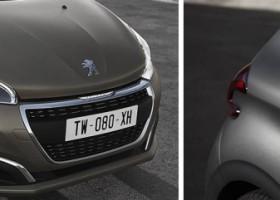 Nowy Peugeot 208 w odcieniach strukturalnych