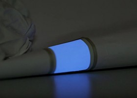 Elektroluminescencyjna powłoka nie tylko na płaskim
