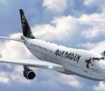 Iron Maiden i samolot z rozmachem