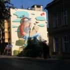 Kabe – nowy mural w Bielsku-Białej