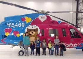 Axalta maluje helikoptery dla szpitala dziecięcego