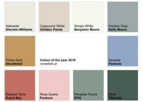 10 kolorów, które zdominują rok 2016