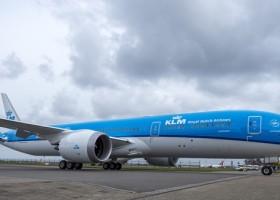Boeingi linii KLM z farbami AkzoNobel