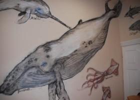 Primacol maluje w Domu Dziecka w Krasnem