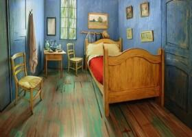 Przenocuj w sypialni Van Gogha