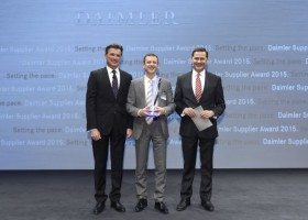 Axalta CS z nagrodą Daimler Supplier Award