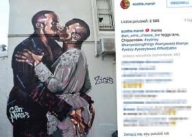 Kanye West i niechlubny mural