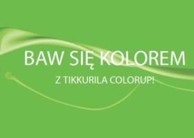 Zabawy z kolorem dzięki Tikkurila ColorUp!