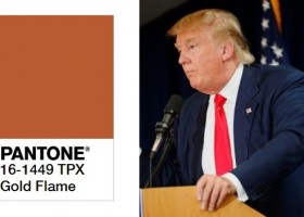 Donald Trump… w palecie Pantone