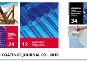 Lakiery UV PUD w nowym European Coatings Journal