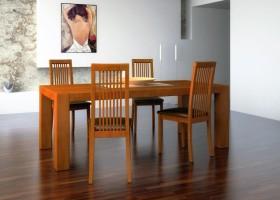 Lakierowanie stołów drewnianych farbami AkzoNobel