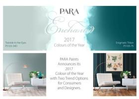Trendy kolorystyczne 2017 PARA Paints