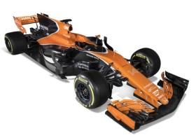 Tarocco Orange od AkzoNobel na bolidzie McLaren!