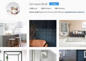 Farrow & Ball na Instagramie