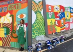 Starbucks maluje z AkzoNobel