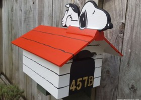 Snoopy na skrzynce