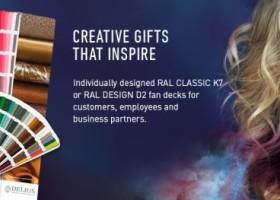 Zindywidualizowane wzorniki RAL – praktyczna reklama