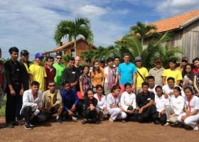 Sika pomaga w Kambodży
