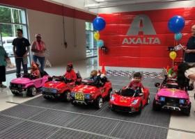Axalta pomaga dzieciom z problemami ruchowymi