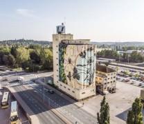 Festiwal sztuki ulicznej w Finlandii