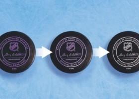Termochromowa powłoka PPG na krążkach hokejowych