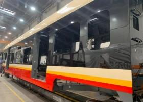 Lakiery PCC na pociągach SKM