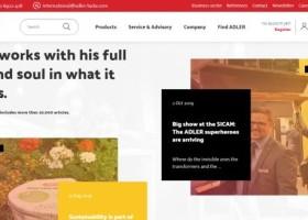 Nowa strona internetowa Adler