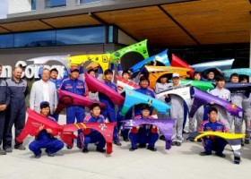 BASF pomaga szkolić studentów lakiernictwa z Japonii