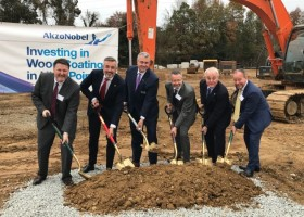 AkzoNobel rozbudowuje fabrykę farb do drewna w USA